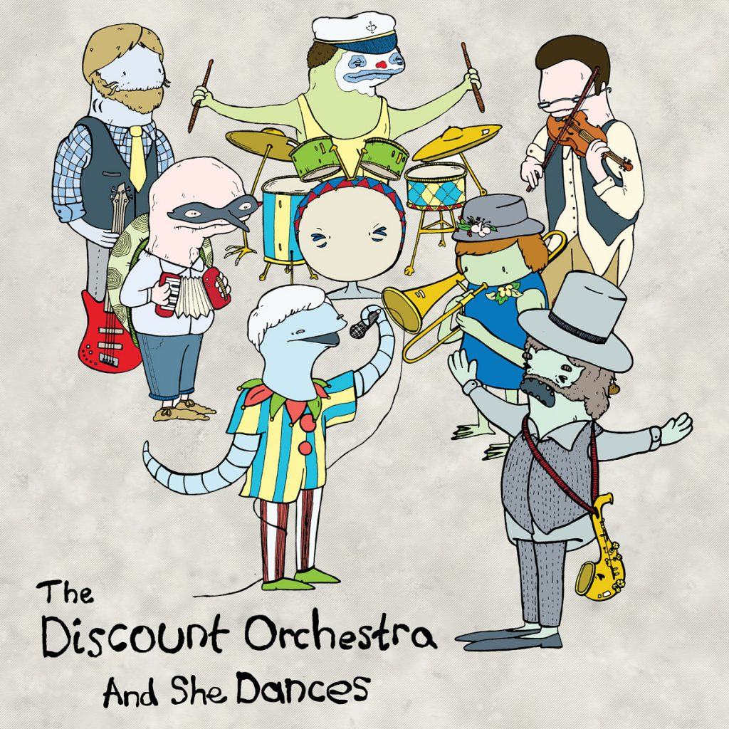 The Discount Orchestra - And She Dances