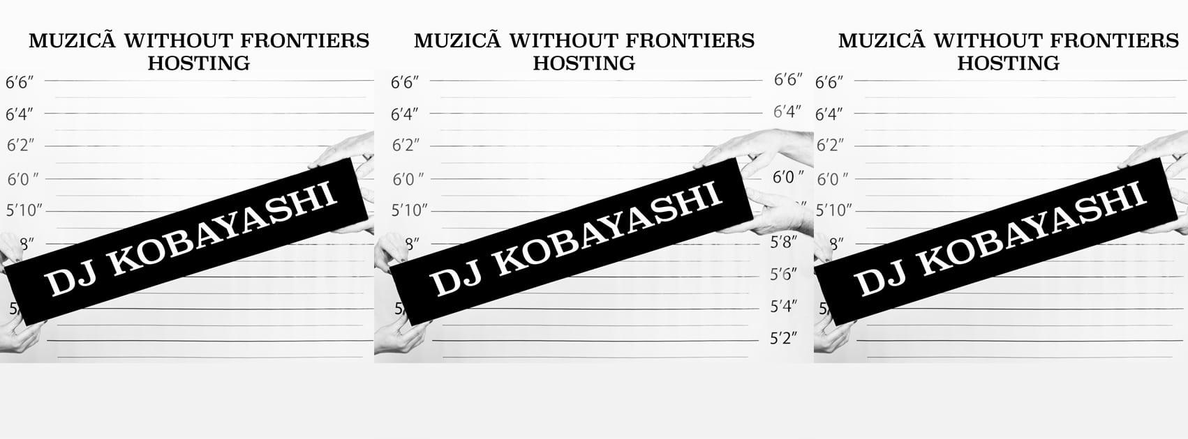 DJ Kobayashi at Muzicã Without Frontiers 4
