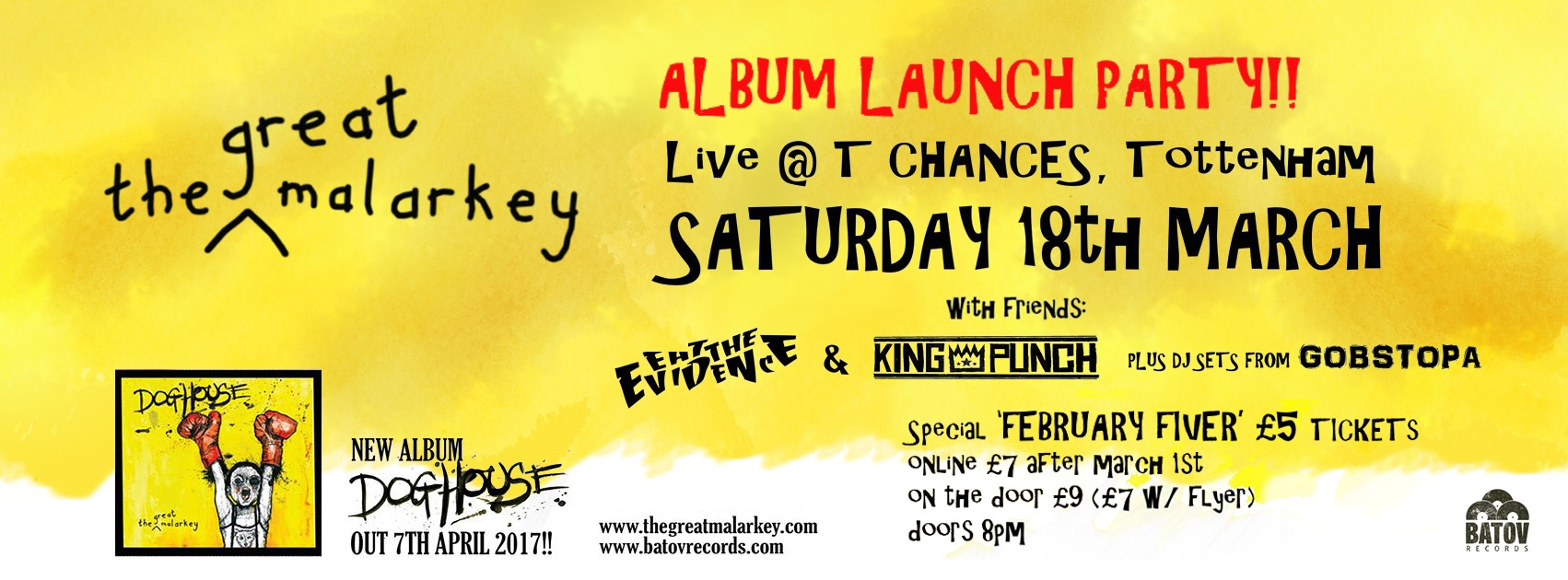 The Great Malarkey UK Album Launch Party 5