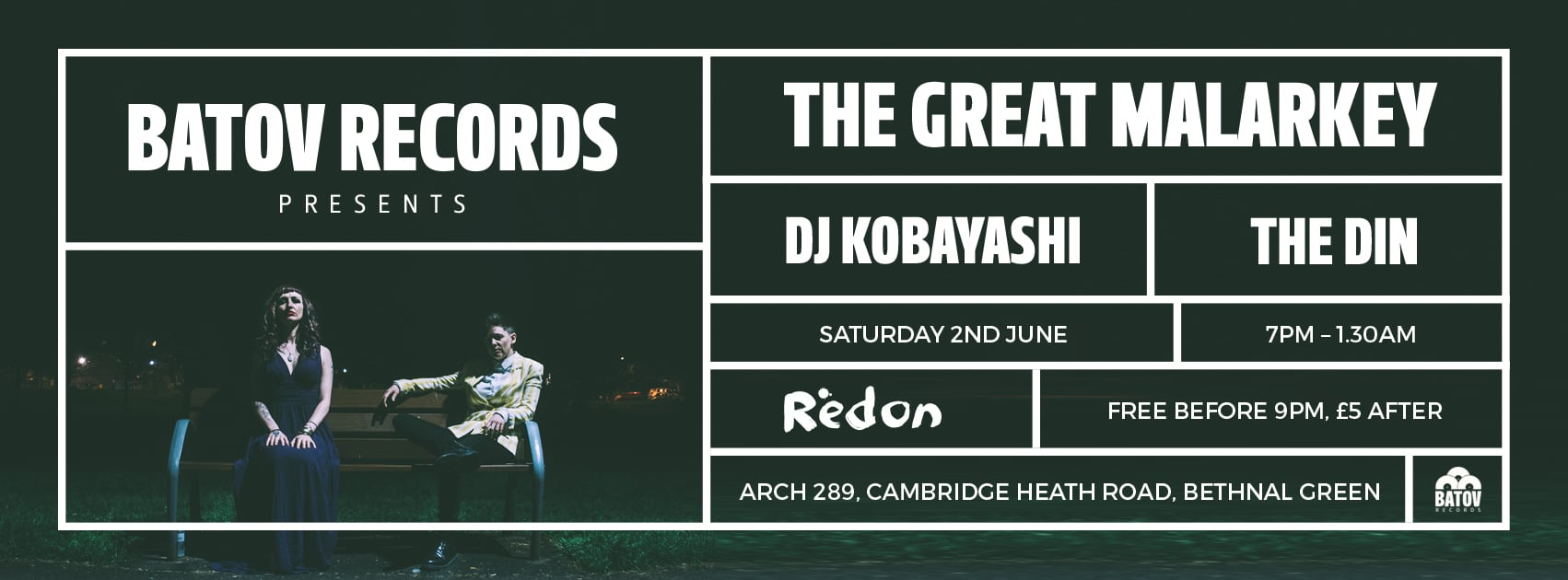 Batov Records are coming to Bethnal Green 2