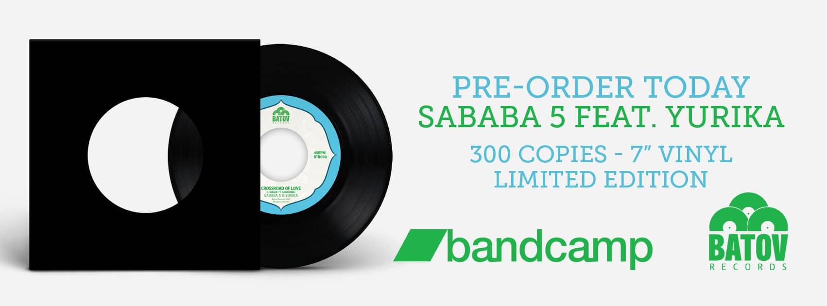 Sababa 5 feat. Yurika - Crossroad of Love {Vinyl pre-order} 1
