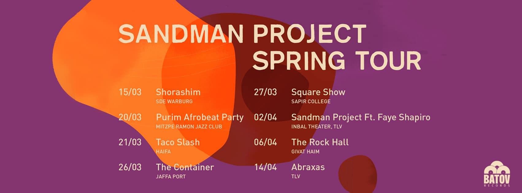 Sandman Project Spring Tour 2019 2