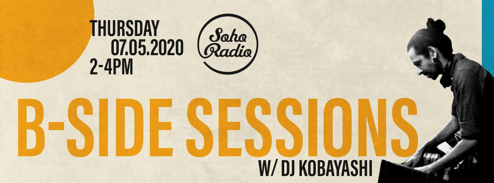 Soho Radio | B-side Sessions | 07/05/20 | Waaju, Kutiman and more