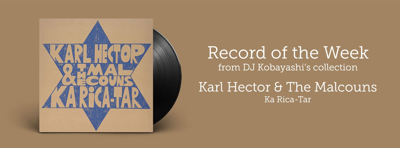 Record of the Week - Karl Hector and The Malcouns
