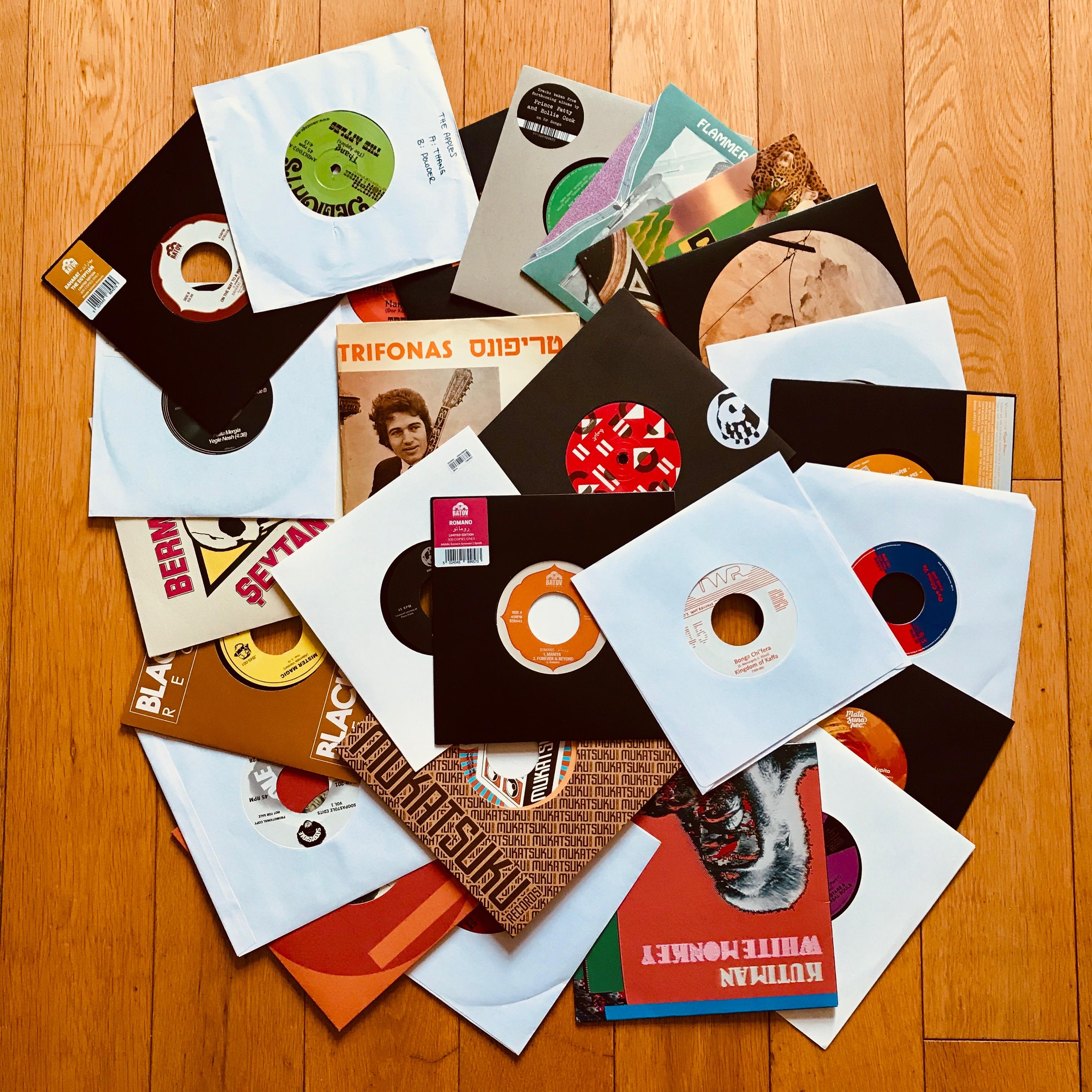 7inch vinyl set