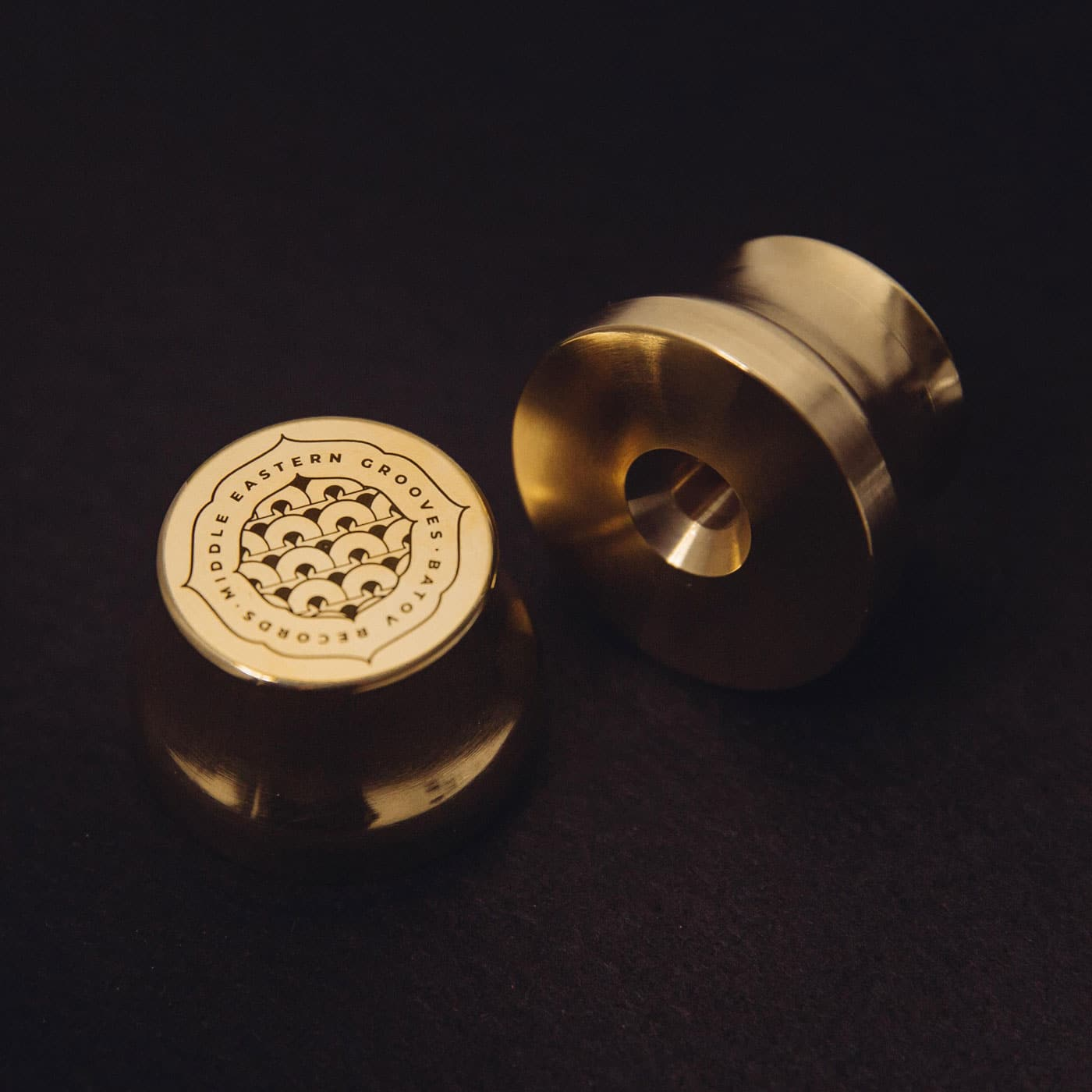 Batov Records Vinyl 45 Brass Adaptor