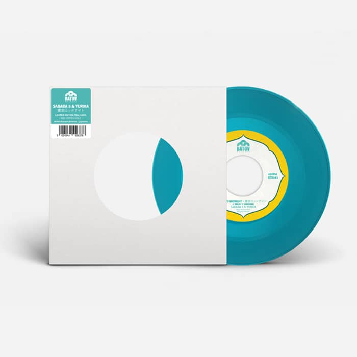 Sababa 5 - Tokyo Midnight Limited Edition Teal Vinyl Cover