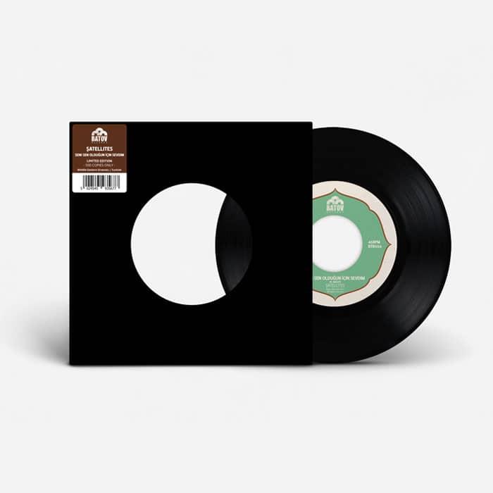 """Seni Sen Olduğun İçin Sevdim Vinyl 12"""" cover"""